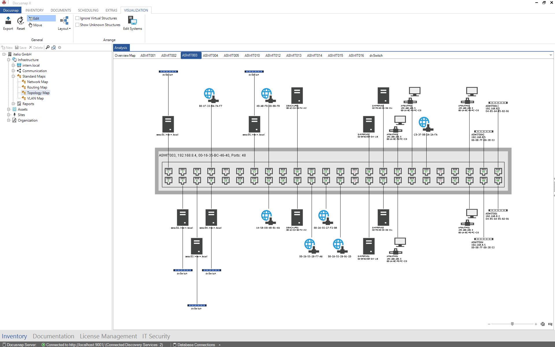 SNMP Plan Preview